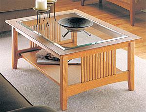 Craftsman Coffee Table Plan