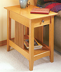 Craftsman End Table Woodworking Plan