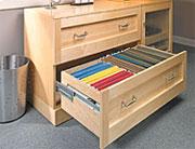 computer file cabinet plan