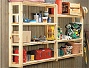 Garage Storage Shelves Plan