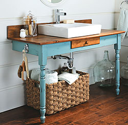 Recycled Vanity 