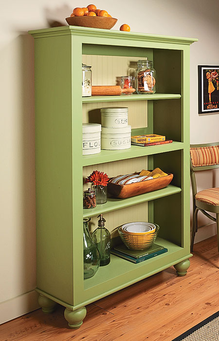bookcase plan - country