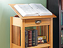 library stand woodworking plan