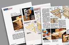 Palm Router  Woodworking Plan