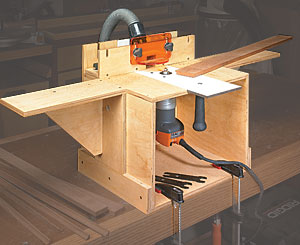 Palm Router Station Woodworking Plan