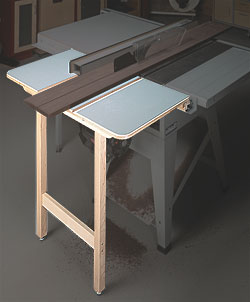 Outfeed Support Woodworking Plan