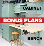 bonus-plans drop-down table saw cabinet