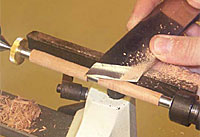 Turning Pens on Lathe